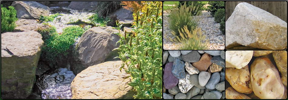 Decorative landscaping stone in hagerstown md boulders for Landscape rock delivery near me